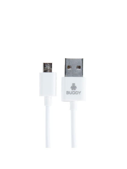Buddy-BUNB103 2.1A USB cable Micro 1M White
