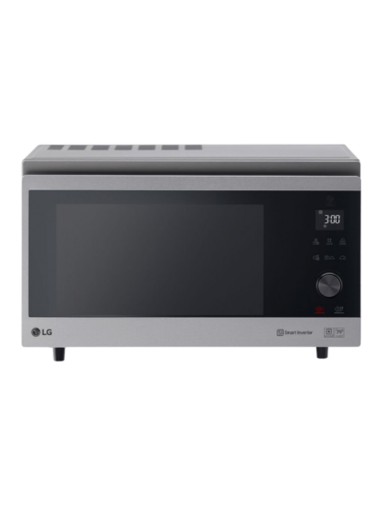 LG- Microwave (39L Convection, Cavity, Steam Cook, Smart Inverter,Auto sensor cook, LED, Stable Ring, Steam Chef, Glass touch & Dial)
