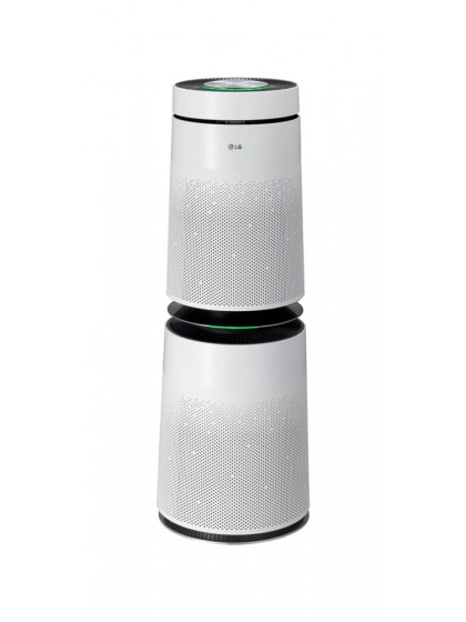 LG - Air Purifier - 91m  Coverage area- white
