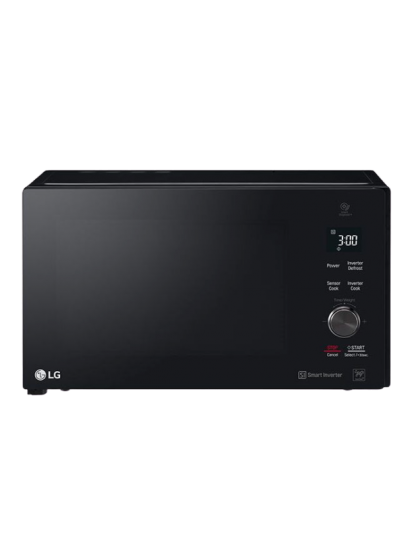 LG- Microwave (42 Liter Grill, Cavity, Smart Inverter, Sensor cook, LED, Stable Ring, Glass touch)