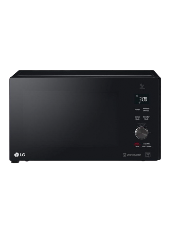LG- Microwave (25 Liter SOLO, Cavity, Smart Inverter,  LED , Stable Ring, Panel Touch Control)