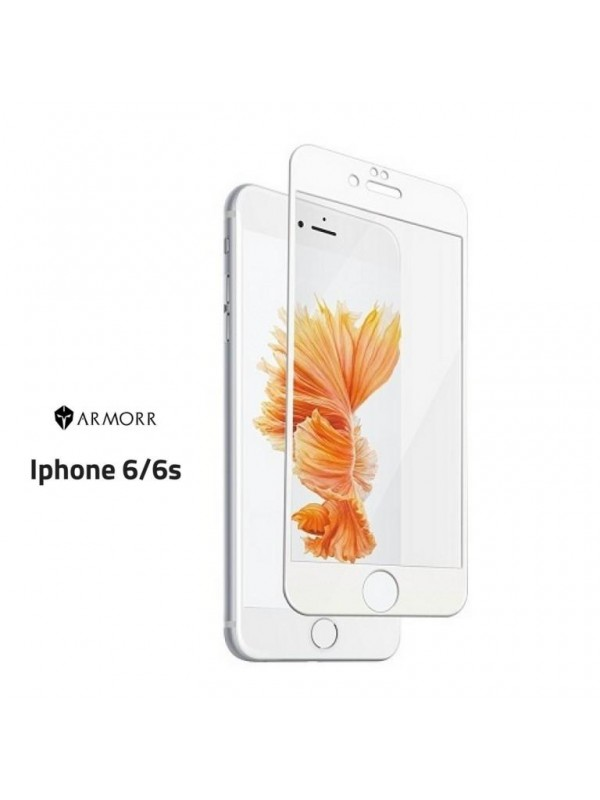 Armor 5D Tempered Glass Iphone 6 White