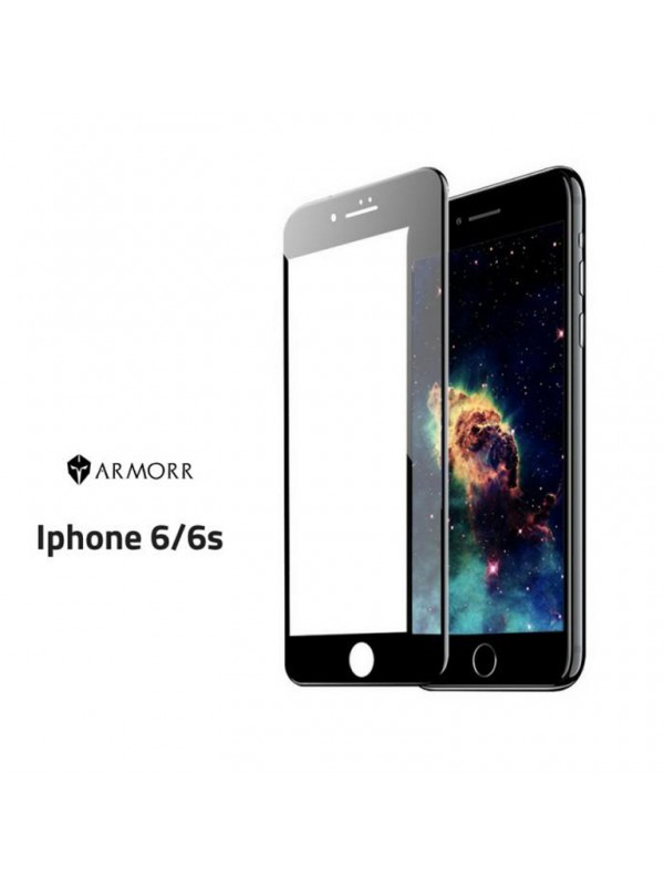 Armor 5D Tempered Glass Iphone 6 Black