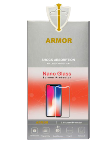 Armor  Screen 5D Tempered Glass Huawei Y9 prime 2019 Black